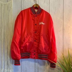 Vintage Dakota Gold USA Soccer Club Bomber
